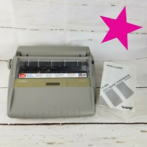 Brother Sx 4000 Daisywheel Electronic Lcd Display Typewriter W Manual tested