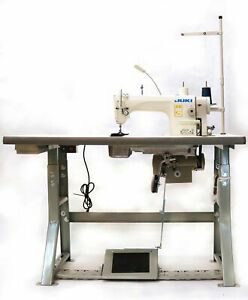 Juki Ddl 8700h Industrial Sewing Machine With Stand servo Motor led Lamps Usa