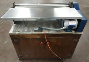 Schaefer Adhesive Gluer 29 110 Volts With Cabinet Bookbinding Like Potdevin