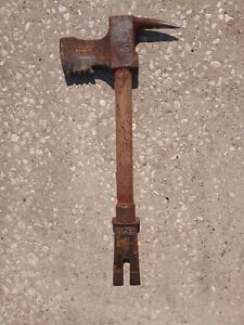 Vintage Paratech Pry axe Firefighting Multi Tool Forcible Entry Rescue Fireman