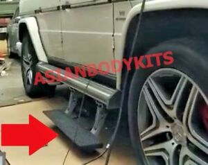 For Mercedes Benz G Class G63 G550 4x4 Side Step Electric Auto Running Boards