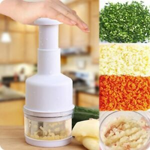 Chopper Hand Pressure Pampered Chef Food Vegetable 215x80x60mm Free Shipping $17.99