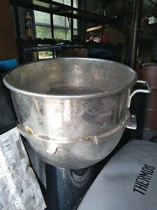 Large Heavy 80 Quart Mixing Bowl For A Commercial Mixer
