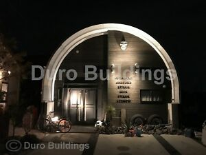 Durospan Steel 30 x40 x15 Metal Diy Home Building Kits Open Ends Factory Direct