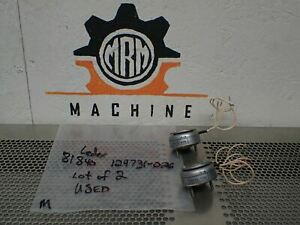 Ledex 81840 129731 026 Rotary Solenoids Used With Warranty lot Of 2 See Pics