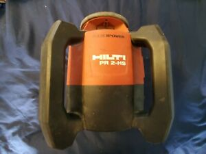 Hilti Pr 2 hs Rotating Laser Level With 1 Battery No Charger No Case