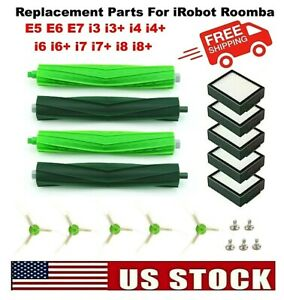 For iRobot Roomba Replacement Parts Side Roller Brushes Filters E5 E6 E7 i3 $10.95