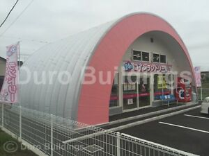 Durospan Steel 42x90x17 Metal Building Prefab Kit Made To Order Open Ends Direct