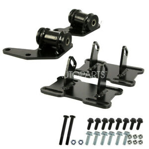 Engine Mount Adapter Kit For 1978 1988 G Body Ls Swap Monte Carlo Regalcutlass Fits 1979 Chevrolet Monte Carlo