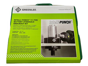 Greenlee Battery Hydraulic Knockout Punch Set