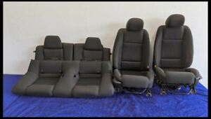2010 2012 Ford Mustang Gt Front Cloth Seat Full Set W No Bags Hot Rod Resto