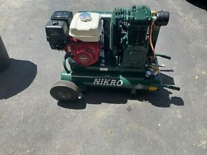 Nikro 8422hk30hp 9 Hp Gas Powered Air Compressor 175psi Local Pick Up Only