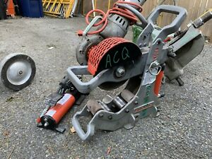 Victaulic Groover And Ridgid 258 Cutter
