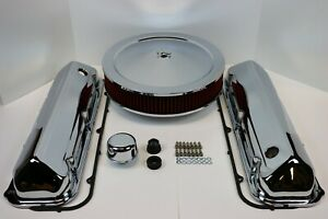 Bb Ford 429 460 Chrome Engine Dress Up Kit Valve Covers Washable Air Cleaner Bbf