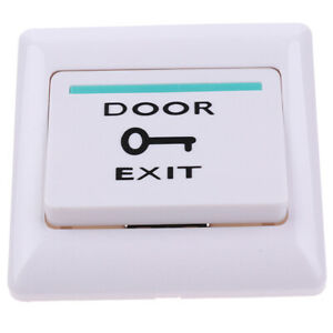 Exit Push Release Button Switch For Electric Magnetic Lock Door Access Contro F0