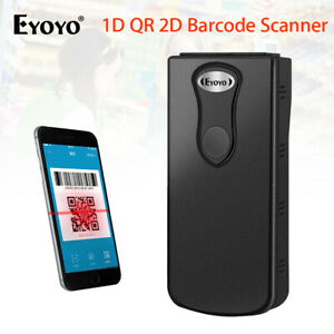 Wireless 2 4g Bluetooth Bar Code Scanner Bar Code Reader For Ios Android System