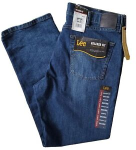 Men#x27;s Lee Relaxed Fit Straight Leg Comfort Stretch Kramer Jeans 36x30 $36.50