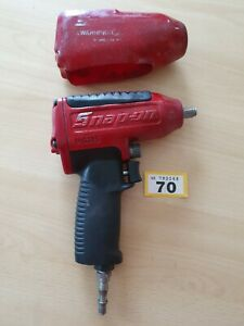 Snap On Impact Gun Mg325 3 8 Drive With Red Vinyl Cover