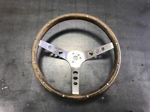 Gt Grant 963 Classic 13 5 Inch Wood Steering Wheel Used Ford Mustang Etc