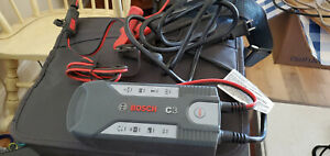 Very Nice Bosch C3 Battery Charger 6 V And 12 V Car Motorcycle Bike