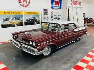 1958 Mercury Medalist Great Driving Classic Burgundy Maroon Mercury Medalist With 99 313 Miles Available Now