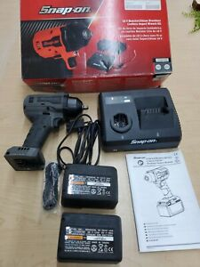 Snap On Ct9010gm 18v Monsterlithium Cordless Brushless 3 8 Drive Impact Wrench