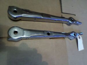 1930 1931 Model A Ford Roadster Windshield Stanchions Original Pair