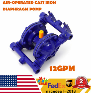 Air operated Double Diaphragm Pump With 0 5 Inlet Outlet For General Acid