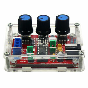 Xr2206 Function Signal Generator Diy Kit Sine Output 1hz 1mhz With Acrylic Case