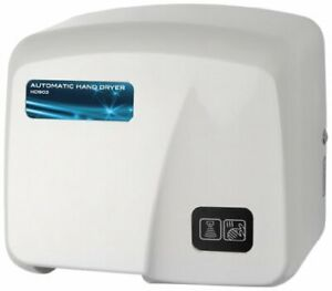 Hd0903 17 Hand Dryer Commercial High Grade Fire Retardant Abs White
