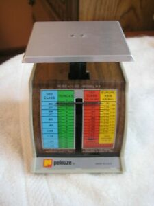 Vintage Pelouze 1981 Model X 1 Small Postage Mail Scale Collectors