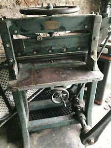 Chandler And Price Guillotine Paper Cutter 26