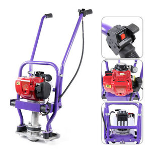 Gas Power 4 Stroke Concrete Surface Vibratory Leveling Screed 1 6m Blade 1 36hp