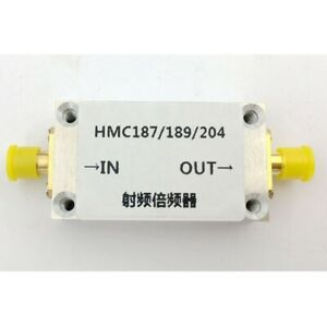 Hmc204 Rf Frequency Multiplier Frequency Doubler With Shell Rf Input 4 8ghz