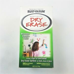 Rust oleum Specialty Paints Gloss White Dry Erase Kit 7 X 7 Coverage Nib
