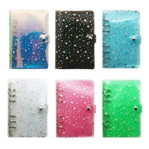 A5 A6 Star Loose Leaf Binder Notebook Inner Core Cover Journal Planner Office