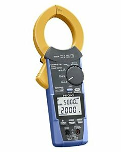 Hioki Ac dc Clamp Meter Cm4374 Ac dc2000a Bluetooth At1207 From Japan