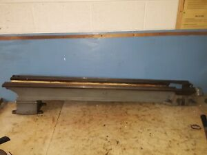 South Bend Lathe 55 Bed V Ways 167126 Steel D w w Channels Long Bench Top Parts