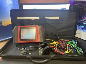 Snap On Modis 13 4 Diagnostic Scanner Lab Scope Dom With Manuals Adapters