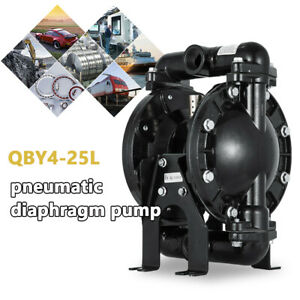 New Air operated Double Diaphragm Pump 35gpm 1 Inlet Outlet Petroleum Fluid Usa