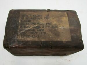 Nos Rivett Usa 2j Lathe Collet 1 4 In Protective Grease Sealed In Original Box