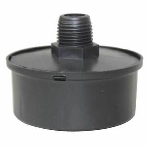 Central Pneumatic Air Compressor Replacement Air Intake Filter Black 3 8 Npt