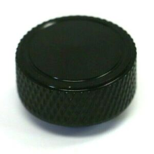 Black Knurled Round Air Cleaner Wing Nut 1 4 20 Thread Chevy Ford 350 454 383