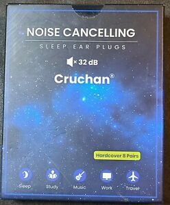 Ear Plugs For Sleeping Noise Canceling Cruchan 8 Pairs 32db