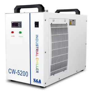 Cw 5200dh Industrial Water Chiller For One 130 150w Co2 Laser Tube 110v usa