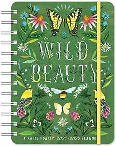 Katie Daisy 2021 2022 On the go Weekly Planner 17 month With Pocket Calendar