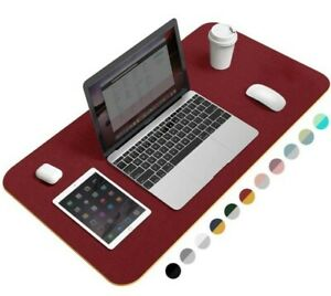 Non slip Desk Pad 36 x17 Pu Leather Work Desk Protector Ultra Thin Large Mat