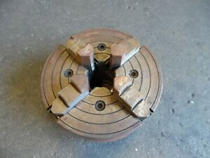 Skinner 4 Jaw Chuck South Bend Lathes 7 1 2 Chuck 4207