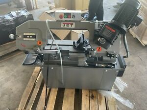 Jet Hbs 814gh 8 In X 14 In 1 Hp 1 phase Geared Head Horizontal Band Saw Damage