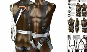 421020 Safety Harness Fall Protection Kit Construction Full Body System
